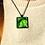 Thumbnail: Green Cabbage | Fine Art Glass Pendant Necklace
