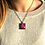 Thumbnail: Red Cabbage | Fine Art Glass Pendant Necklace