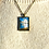 Thumbnail: Sunset on Spiddal Prom | Fine Art Glass Pendant Necklace