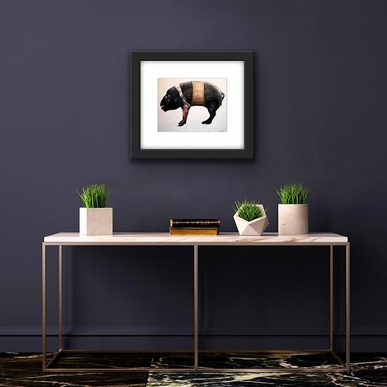 Pig in a Corset | Fine Art Print