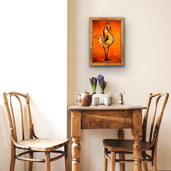 Strutting Hen | Fine Art Print
