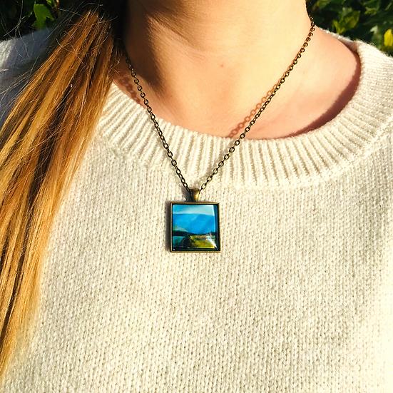 Boreen | Fine Art Glass Pendant Necklace