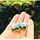 Thumbnail: Misty Morning on the Mountain | Fine Art Glass Cufflinks