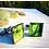 Thumbnail: Green Cabbage | Fine Art Glass Cufflinks