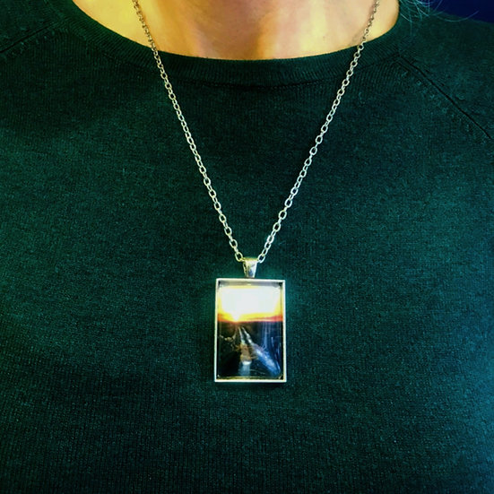 Bogroad | Fine Art Glass Pendant Necklace