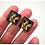 Thumbnail: Bejazzled | Fine Art Glass Cufflinks