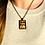 Thumbnail: Donkey | Fine Art Glass Pendant Necklace