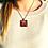 Thumbnail: Beetroot I Fine Art Glass Pendant Necklace