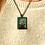 Thumbnail: No Sailors Today I Fine Art Glass Pendant Necklace