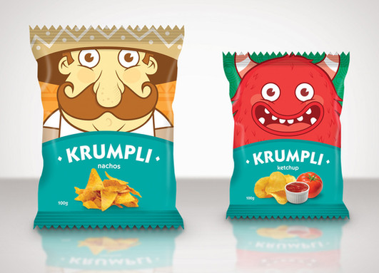 Krumpli packaging