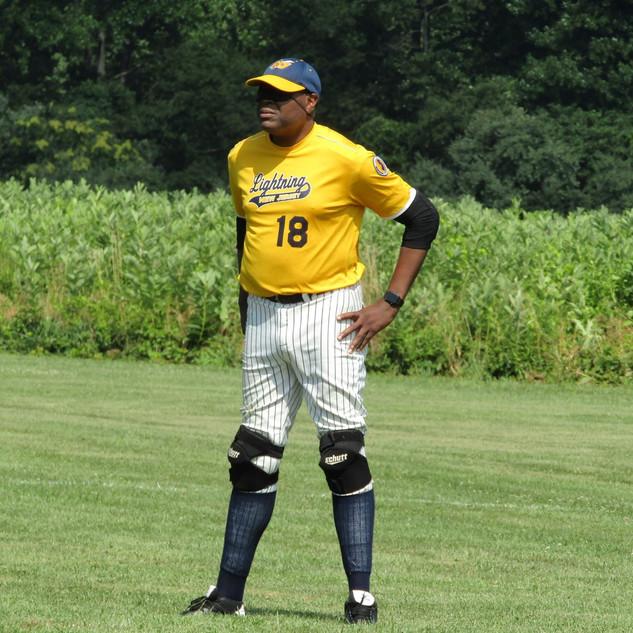 Coach Sherlock Washington- Beep Baseball