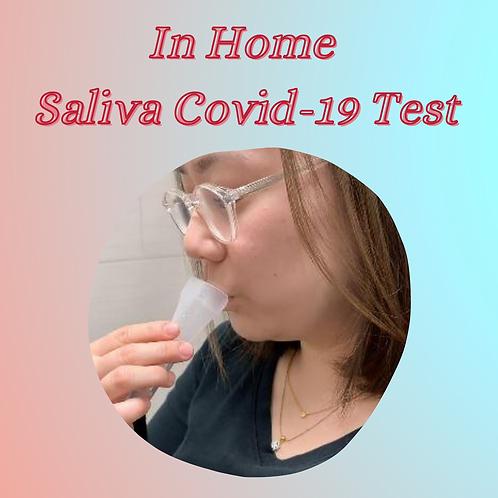 IN HOME Saliva Covid-19 Test