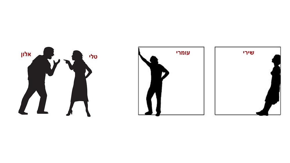 זוגות במצבי משבר בזוגיות - שתיקה וריחוק או ריבים בלי סוף