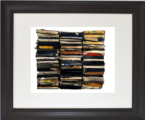 sketchbooks (8x10 framed)