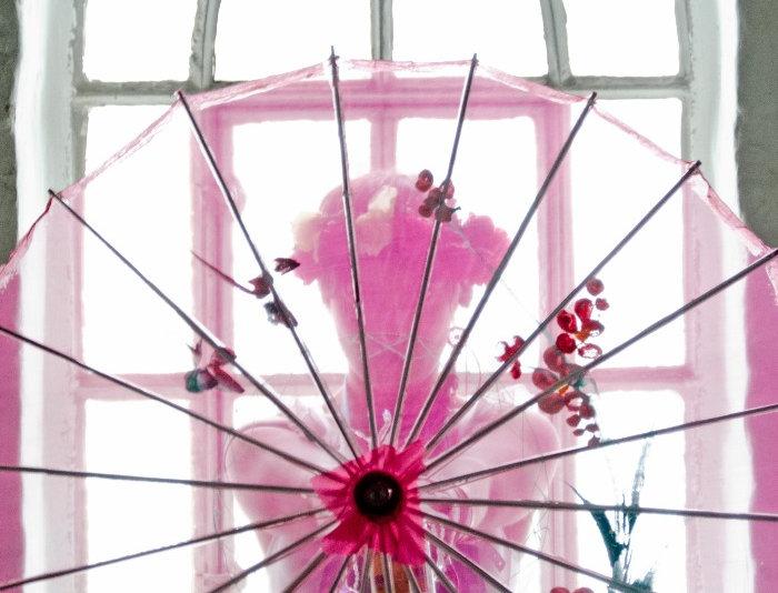 Pink parasol #2