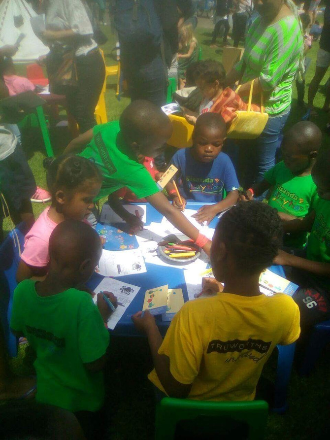 Thandolwethu Kids at Kids in the Center