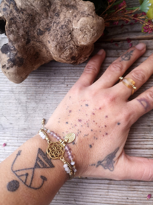 Samen des Lebens Armband