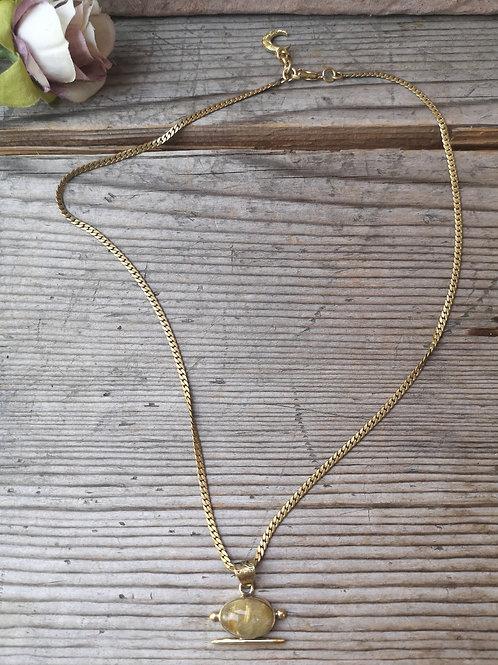 Rutilquarz Halskette