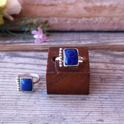 Lapiz Lazuli Silberring