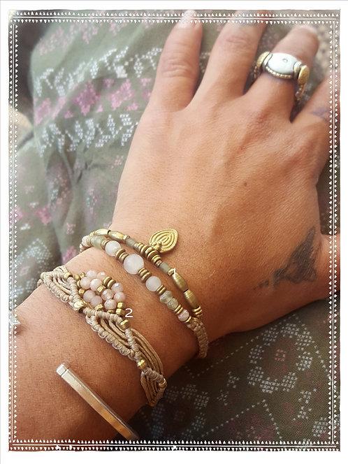 Armband Rosenquarz Nr.1