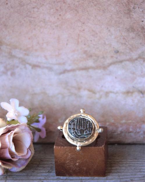 Antike Shiva Münze Ring