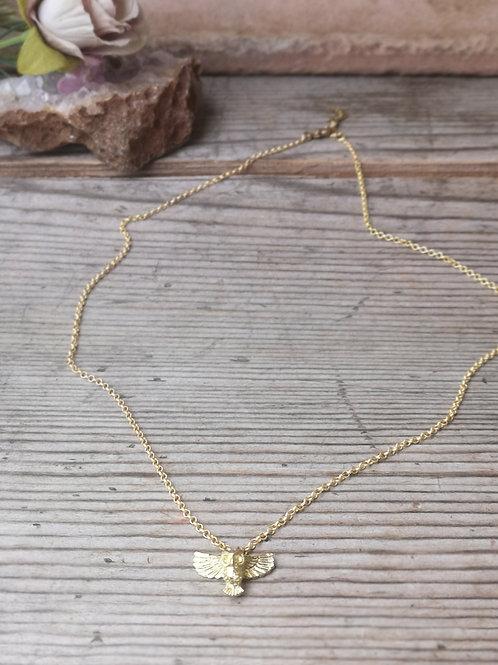 Halskette Eule