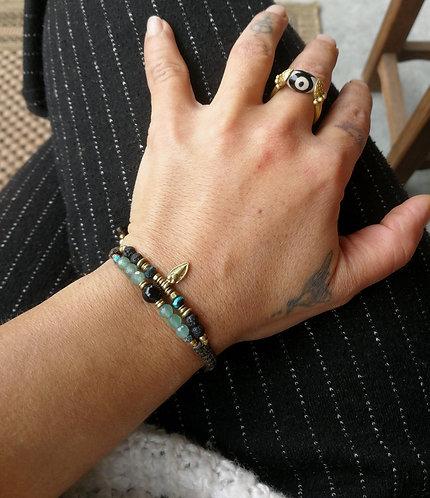 Armband mit Amazonit