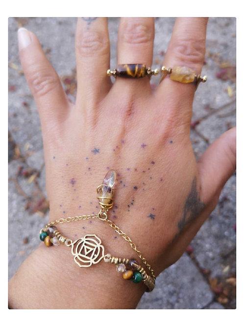 Wurzel Chakra Armband