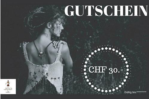 Gutschein CHF 30.-