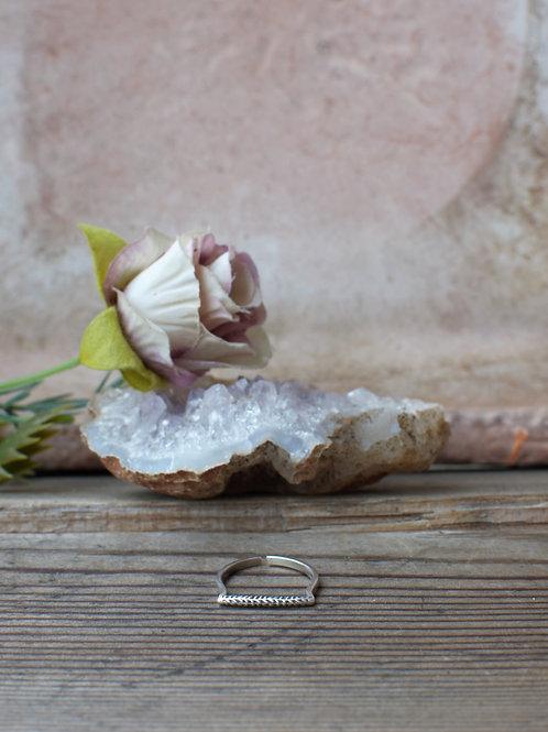 Einfacher Silber Ring