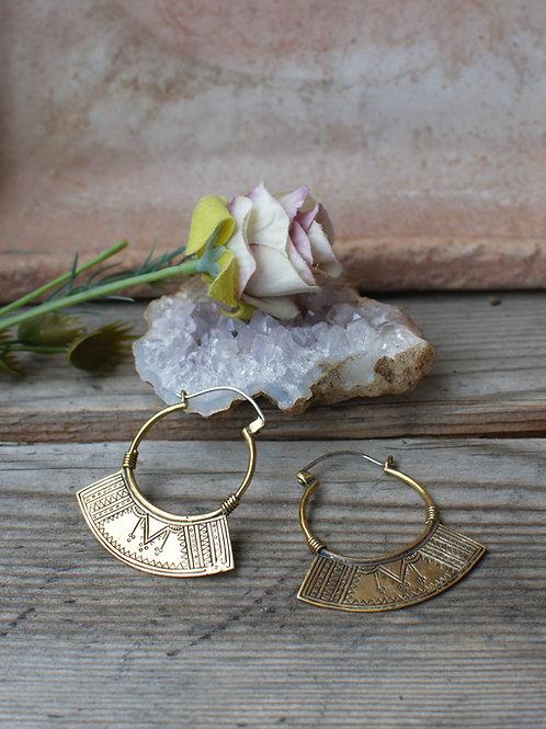 Samaya Ohrringe Gold/Silber
