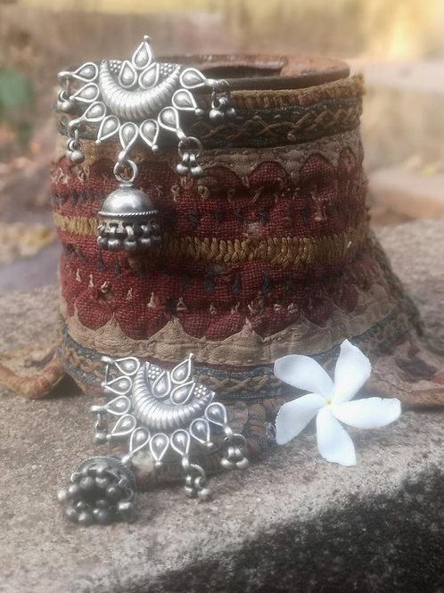Zigeuner Silber Ohrringe