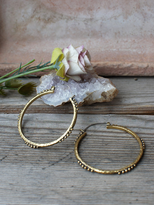 Bangle Hoops Gold/Silber