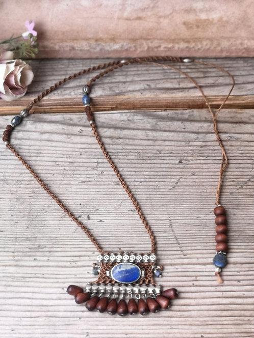 Ethnische Sodalith Halskette