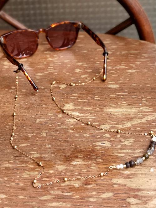 Brillenkette Labradorite