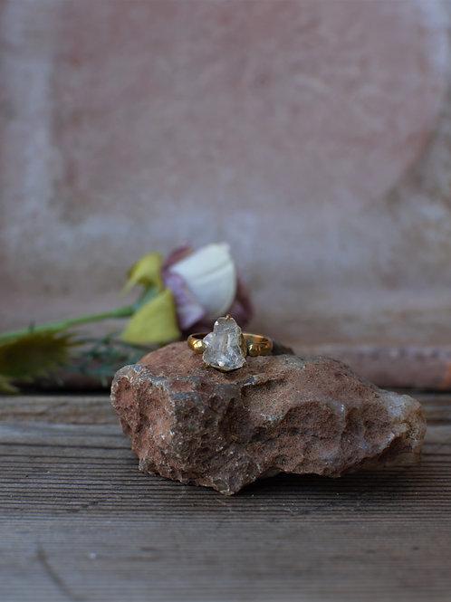 Bergkristall Ring 2