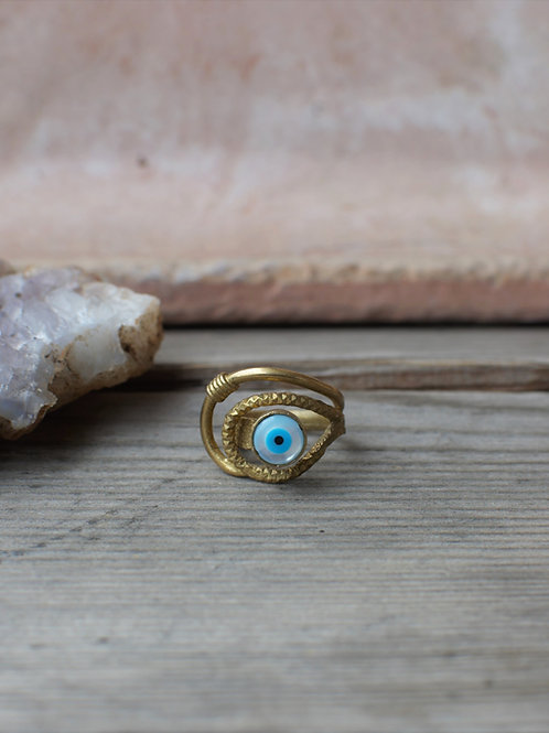 Perlmutt Nazar Ring