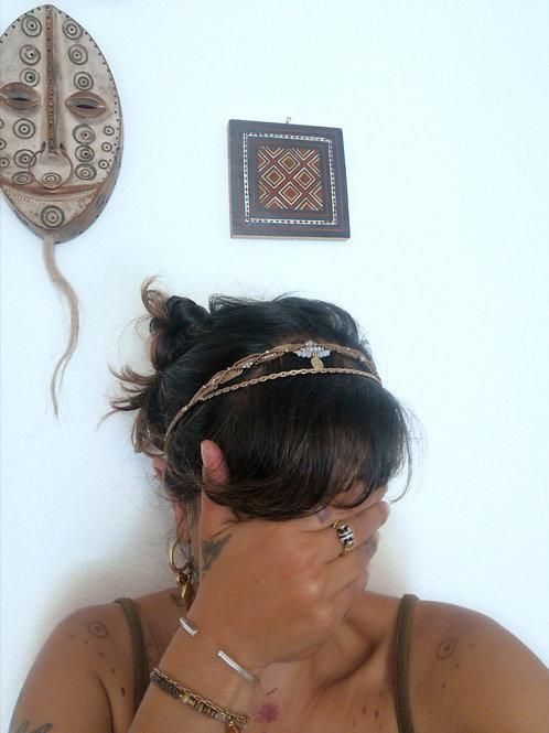 Mondstein Kopfband