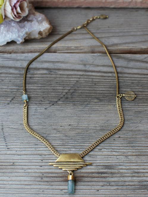 Aquamarine Halskette