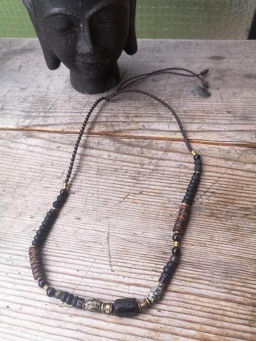 Turmalin Halskette Man