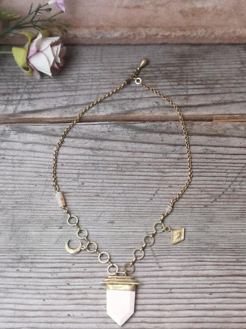 Korallen Halskette