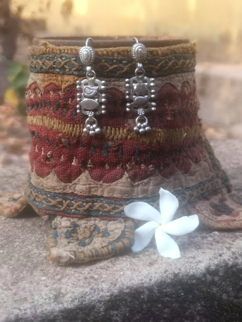 Antike Silber Ohrringe
