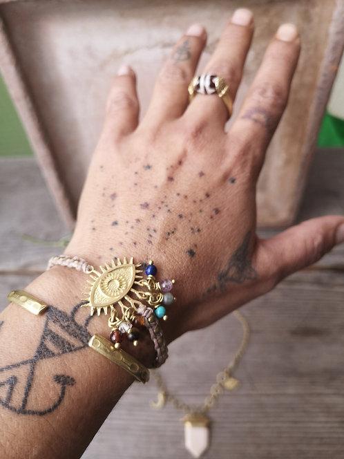 7 Chakra Armband