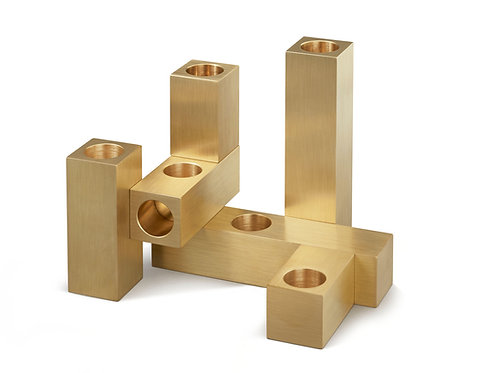 DOMINO CANDLE HOLDERS