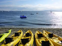 Sit-On-Top Kayaks on Golden Gardens