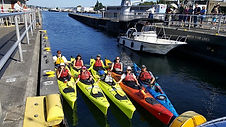 Sea kayak tours ballard locks