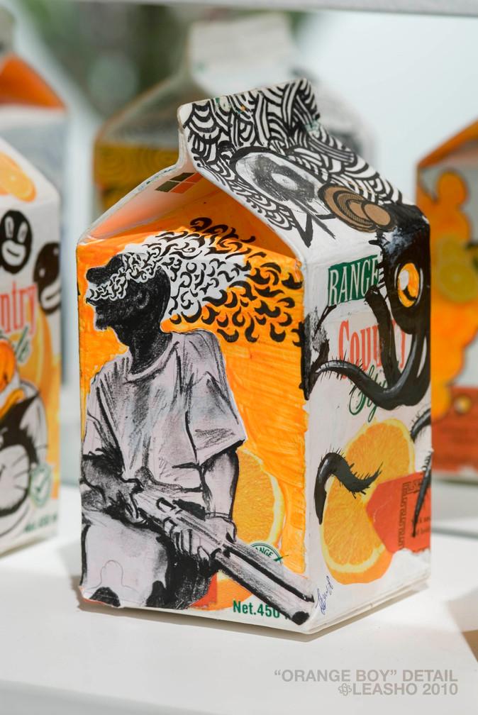 Orange boy (detail)