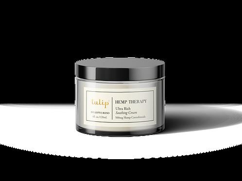 Hemp Therapy Eucalyptus Body Cream - 500mg CBD