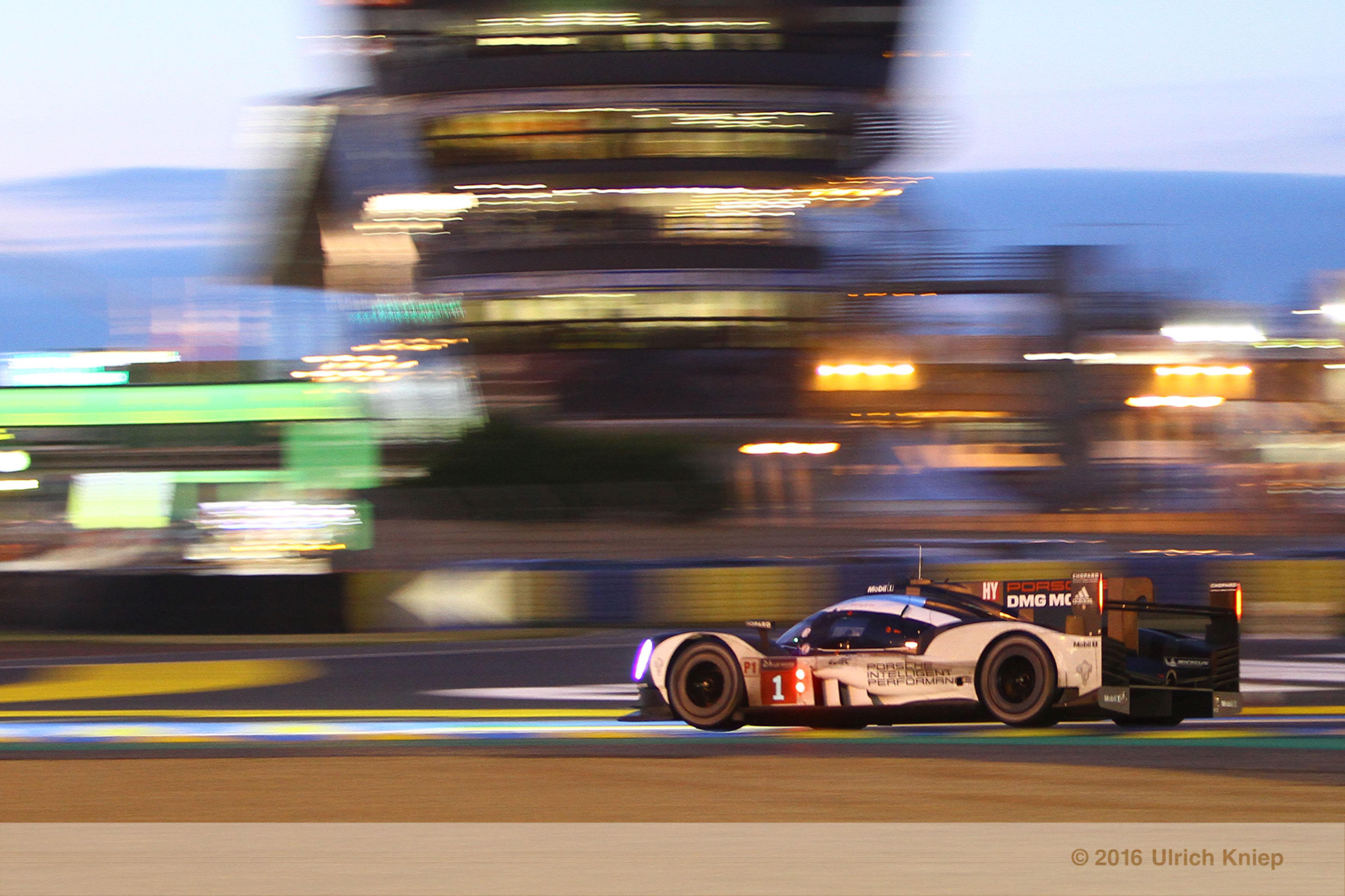 LMP1 Porsche evening