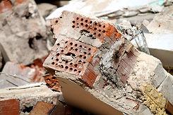 Demolizione murature esistenti